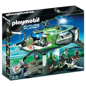 Base des E-Rangers - Playmobil Future Planet 5149