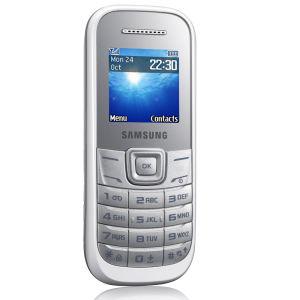 Téléphone portable Samsung E1202 Blanc - double sim