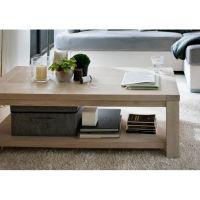Table basse 120x60 cm Man - plaquée chêne