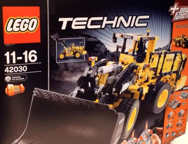 Jeu Lego Technic 42030 Volvo L350F