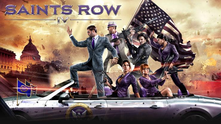 75% de réduction sur la Franchise Saints Row (jeux dématérialisés - Steam) - Ex: Saints Row IV