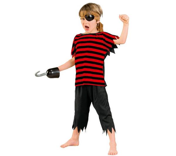 Costume enfant Pirate Cesar - Taille  5-7 ans et 10-12 ans