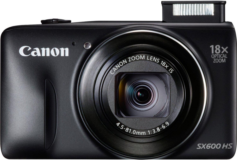 Appareil photo Canon PowerShot SX600HS 16 MP Wi-Fi et NFC