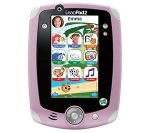 Tablette Leapfrog LeapPad 2 - Rose ou verte