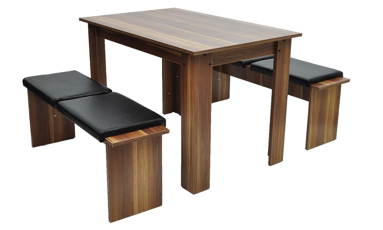 Table à manger + 2 bancs