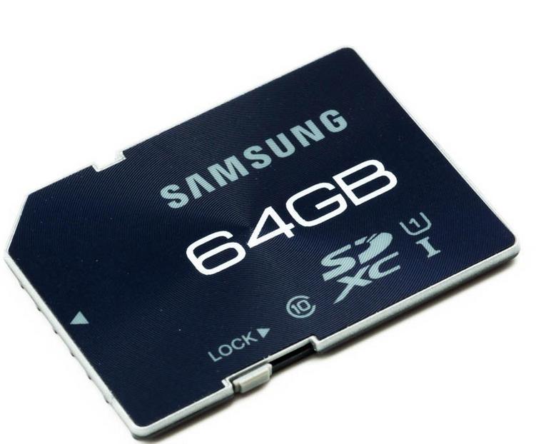 Carte mémoire Samsung Pro SDXC 64Go Class 10 UHS-I