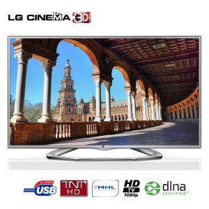 """Télévision 47"""" LG 47LA6130 TV LED Cinéma 3D (2 paires de lunettes 3D incluses)"""