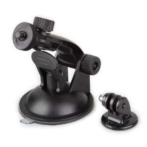 Support Ventouse + Adaptateur Trépied Fixation Voiture Pour GoPro Hero 3/2/1