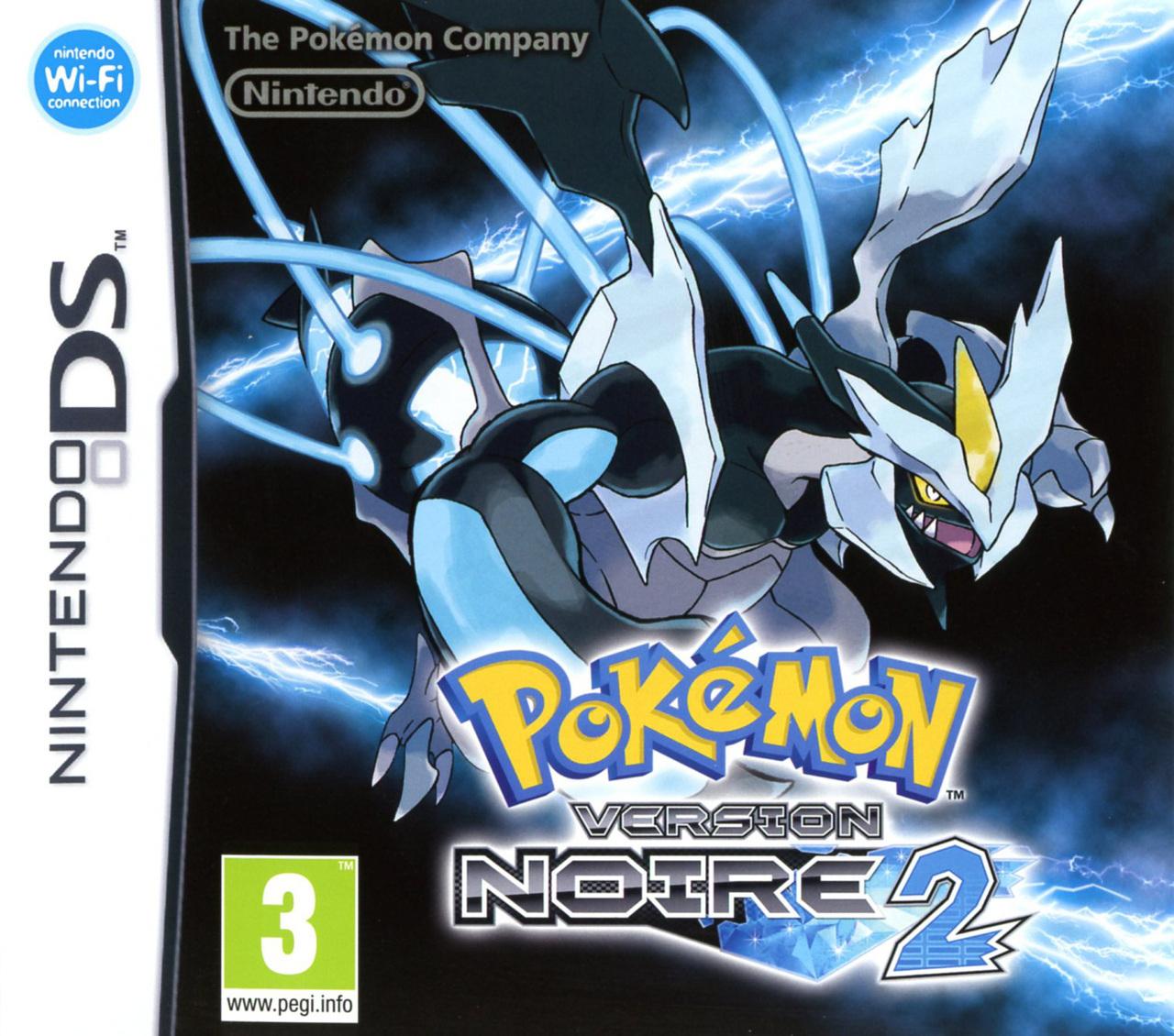 Pokemon Noire 2 sur DS