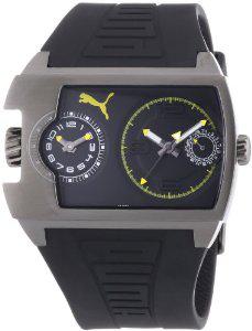 Montre Homme Puma Time PU102421003 - Quartz Analogique - Bracelet Plastique Noir