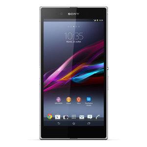 """Smartphone 6.4"""" Sony Xperia Z Ultra Blanc + Dock Sony DK30"""