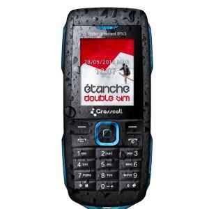 Téléphone Crosscall Discovery résistant à la poussière et à l'eau (avec ODR 20€)