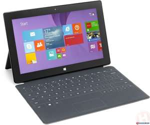"""Tablette 10.6"""" Microsoft Surface Pro 2 - i5-4200U, 64 Go + Clavier Touch Cover (Qwerty)"""