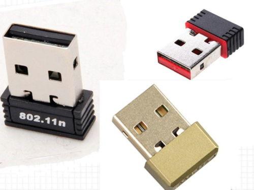 Dongle-Adaptateur Wi-Fi 150 Mbps générique compatible Raspberry Pi