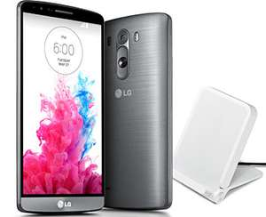 Smartphone LG G3 + Chargeur à induction WCD 100