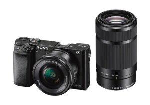 appareil photo Sony A6000 + 2 objectifs 16-50mm et 55-210mm (avec ODR 100 €)