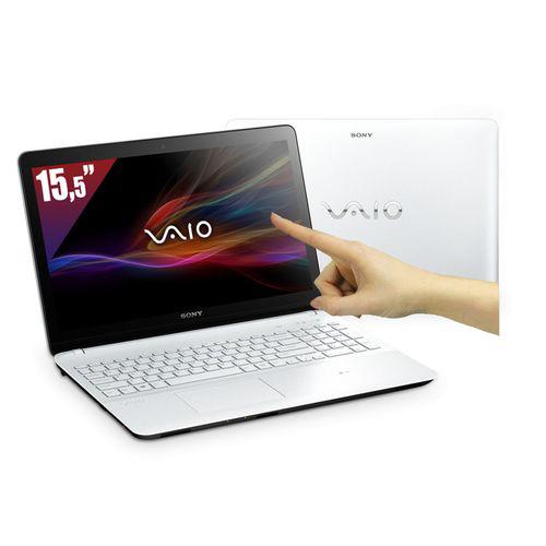 PC Portable Sony Vaio 15,5'' Tactile -  i3-3217U (1,8 GHz) - HDD 500 Go - RAM 4 Go