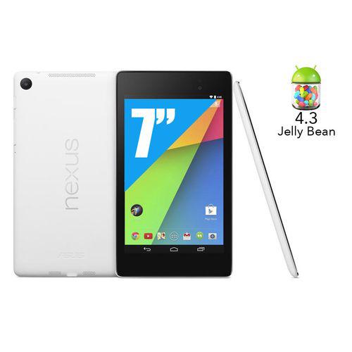 Tablette Asus Google Nexus 7 - 2013 - Wi-Fi - 32 Go (Blanche)
