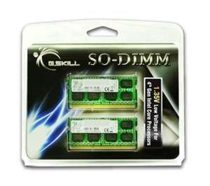 Mémoire DDR3 so-dimm G-Skill 8 Go (2x4Go)