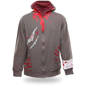 Sélection de vêtements, serviettes, goodies en soldes - Ex : Sweat Zombie Attack (M, L, XL)