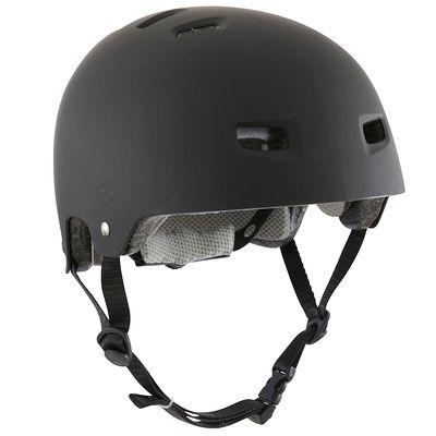 Casque adulte noir ou blanc pour roller, skateboard, trottinette ou vélo
