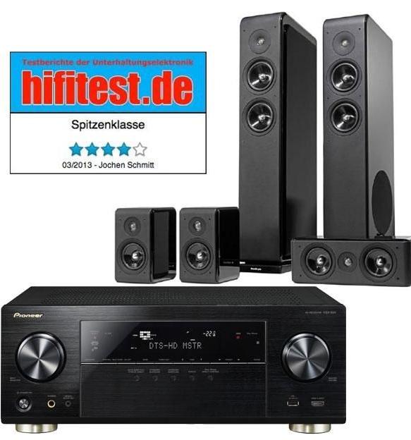Ampli Home-cinéma Pioneer VSX-924 + Ensemble Home-cinéma AudioPro Avanto 5.0