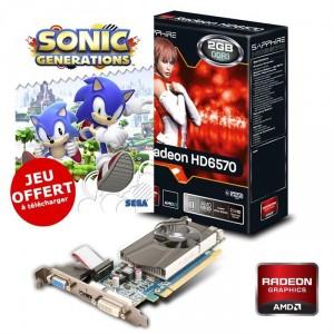 Sapphire AMD Radeon HD6570 2Go DDR3 LP