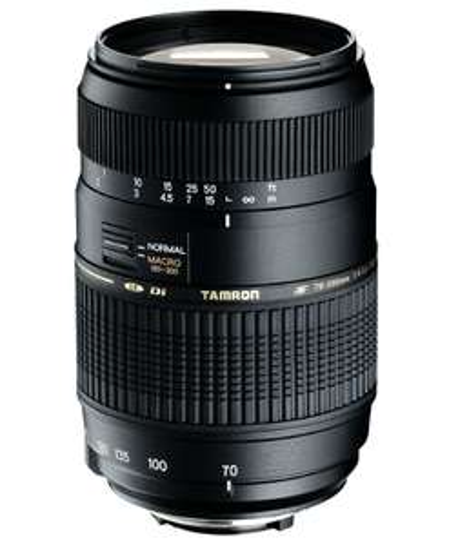 Objectif Tamron 70-300mm F/4-5,6 Di LD IF Macro 1/2 monture Canon