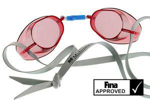 lunettes de natation suedoises de compétition / entrainement (6 Coloris) - (6.92€ de port)