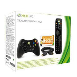 Pack Essentials Xbox 360 : Manette sans fil + Câble HDMI + Télécommande + Carte Xbox LIVE 3 mois