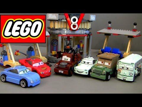 Lego 8487  Cars Le café de Flo