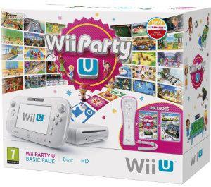 Console Nintendo Wii U 8 Go Blanche + Wiimote + Wii Party + NintendoLand