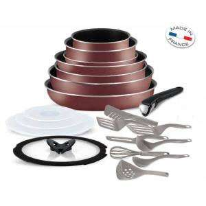 Batterie de cuisine Tefal Ingenio 5 - Set de 20 pièces