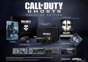 Call of Duty  Ghosts - édition prestige sur PS4 à 81.25€ Xbox 360