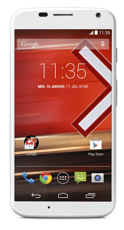 Smartphone Motorola Moto X blanc 4G