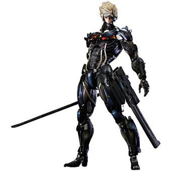 Figurine Raiden tirée du jeu Metal Gear Rising Revengeance (28,2cm) (autres figurines voir description)