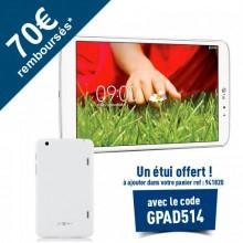 """Tablette LG G Pad 8.3"""" 16 Go (Avec ODR de 70€) + Housse d'une valeur de 30€ offerte"""