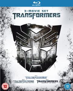 Coffret Blu-Ray Trilogie Transformers