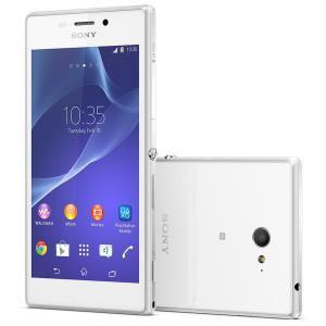 Smartphone Sony Xperia M2 Blanc (Avec ODR de 50€)