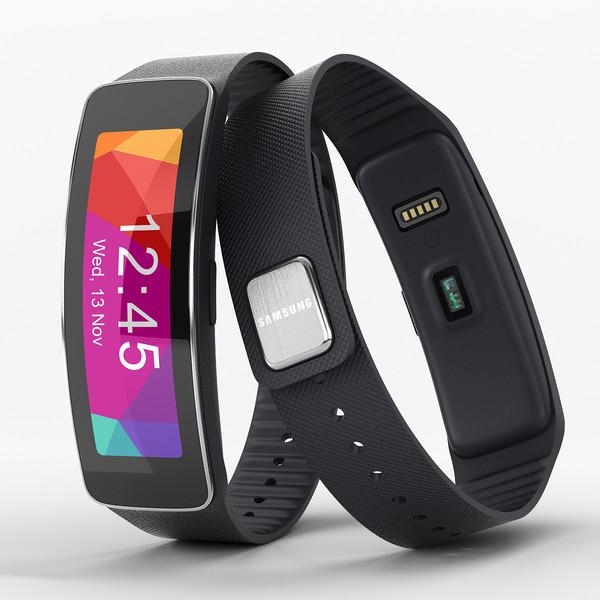 Bracelet connecté Samsung Gear Fit - Noir (avec ODR 100€) avec achat cumulé d'un Smartphone Samsung parmi une sélection