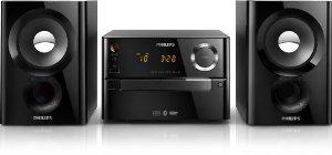 Micro-chaîne Philips BTM1180/12 Micro-chaîne Bluetooth CD Tuner FM USB  20 W RMS Noir