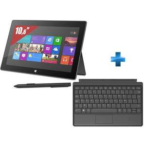 Tablette Microsoft Surface Pro 128Go + Type Cover