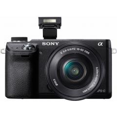 Appareil photo hybride Sony Nex-6 + Objectif 16-50 mm
