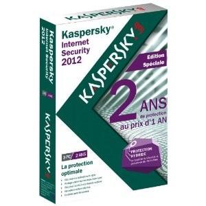 Kaspersky licence 2 ans 3 postes