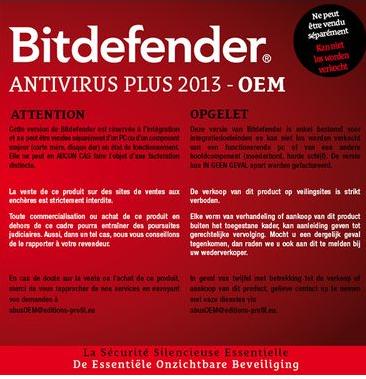 Licence Bitdefender Antivirus Plus - 1 an