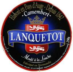 Camembert Lanquetot 250g (40% sur la carte Waouh)
