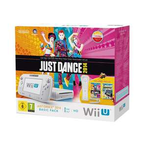 Pack edition limitée console Wii U + Just Dance 2014 + Nintendo Land + wiimote Plus incluse