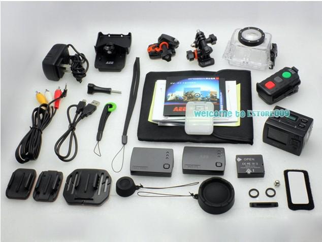 Camera sportive (PNJ Cam) AEE SD23 + Carte SD 16 Go (pack custom)