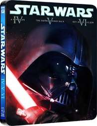 Star Wars: The Original Trilogy (Episodes IV-VI) - Limited Edition Steelbook [Blu-ray] [1977]