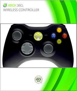 Manette sans fil officielle Microsoft Xbox 360